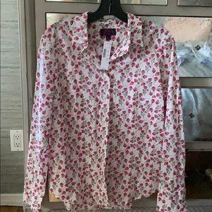 J Crew blouse Shirt Top